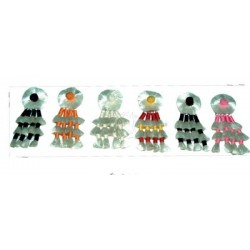 Mosquero seda miniatura