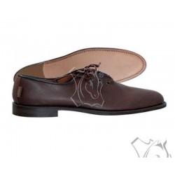 Zapato polaina cordón