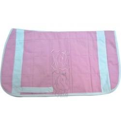 Mantilla gruesa rosa