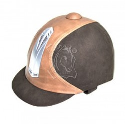CASCO POLIPIEL MARRON