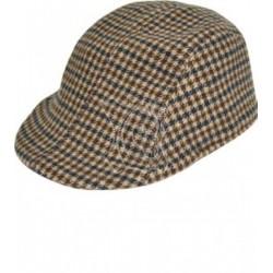 Gorra casco paño grueso