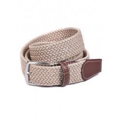 Cinturón trenzado de sutax...