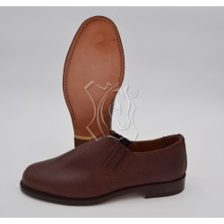 Zapato polaina cuero...
