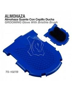Almohaza-guante con cepillo...